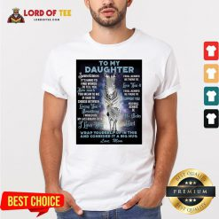 Official To My Daughter Wrap Yourself Up In This And Consider It A Big Hug Love Mom Shirt Design By Lordoftee.com