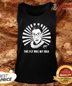 The Fly Was My Idea VP Debates Mike Pence Fly Buzz RBG T-Tank Top