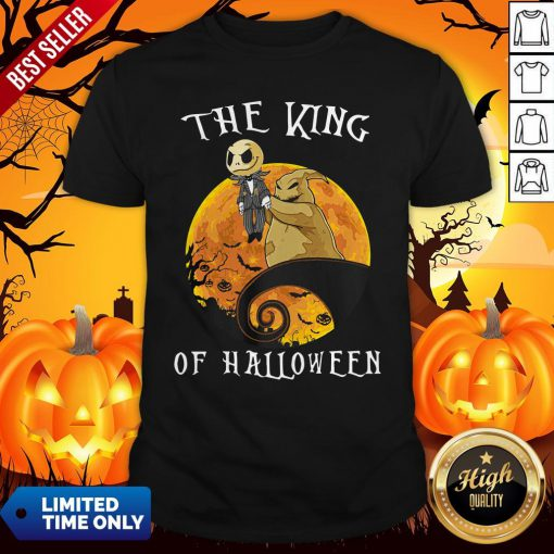 The King Of Halloween Jack Skellington Shirt