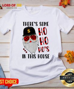 Being An Uncle Is An Honor Being A Godfather Is Priceless ShirtThere's Some Ho In This House Santa Claus Christmas Sweater V-neck