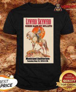 Top Lynyrd Skynyrd Gimme Back My Bullets Municipal Auditorium Shirt Design By Lordoftee.com