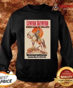 Top Lynyrd Skynyrd Gimme Back My Bullets Municipal Auditorium Sweatshirt Design By Lordoftee.com