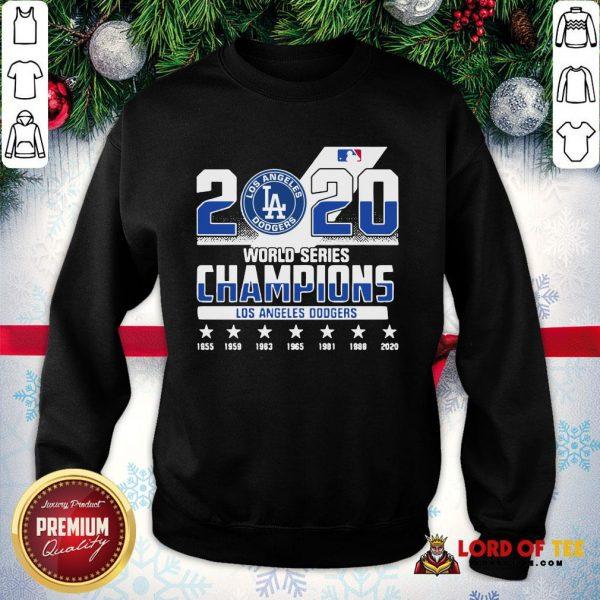 2020 World Series Champions Los Angeles Dodgers SweatShirt