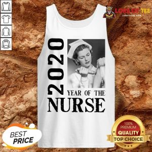 Awesome 2020 Year Of The Nurse Tank Top