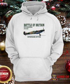 Battle Of Britain 80th Anniversary 1940 2020 Supermarine Spitfire Hoodie