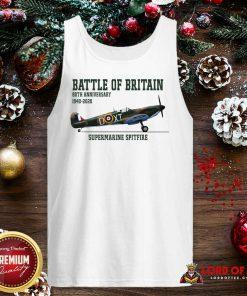 Battle Of Britain 80th Anniversary 1940 2020 Supermarine Spitfire Tank Top