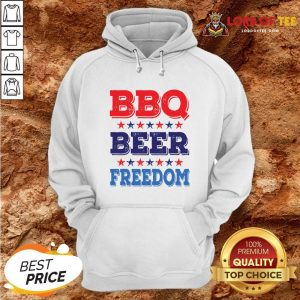 Awesome BBQ BEER And FREEDOM Hoodie