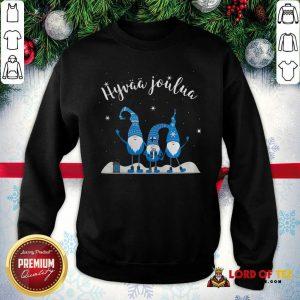 Finnish Merry Christmas Tontut Hyvaa Joulua SweatShirt