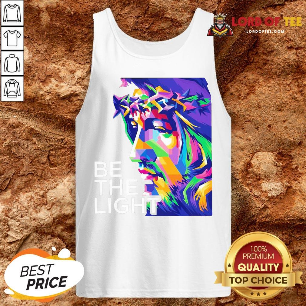 Awesome Jesus Be The Light Tank Top