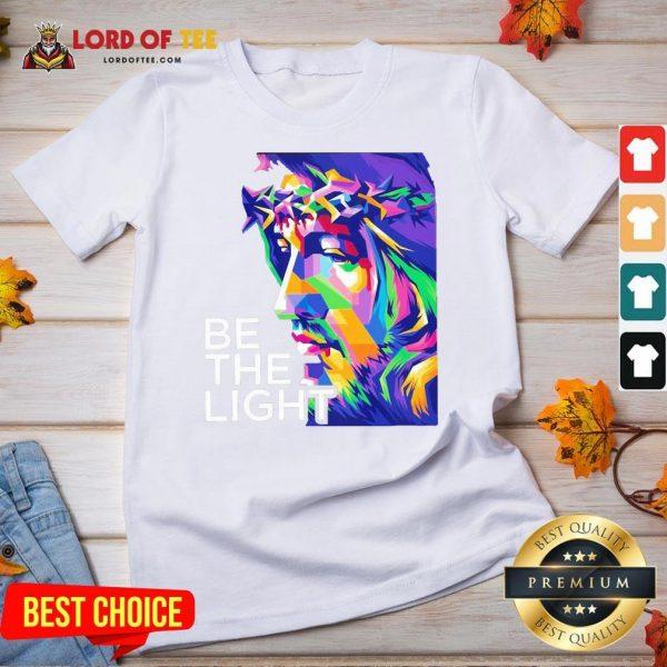 Awesome Jesus Be The Light V-neck