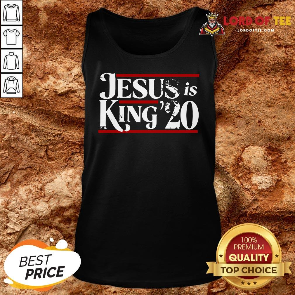 Awesome Jesus Is King 2020 Tank Top