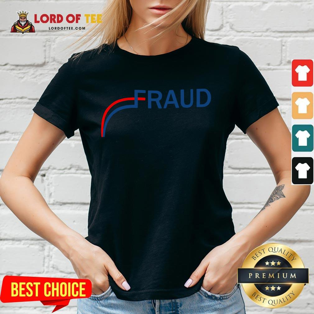 Awesome Stop The Fraud 2020 Us Election Mail Ballots V-neck