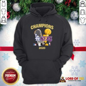 Champions Los Angeles Lakers World Series Champions 2020 Hoodie