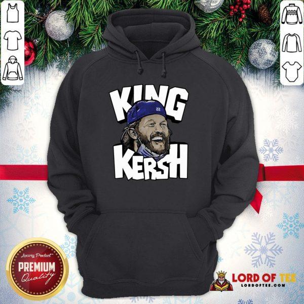 Clayton Kershaw King Kersh L.A Hoodie