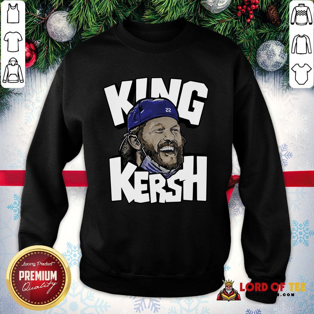 Clayton Kershaw King Kersh L.A SweatShirt