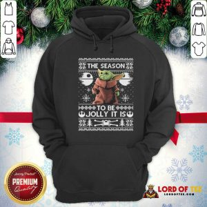 Cute 2020 The Child Baby Yoda Ugly Christmas Hoodie