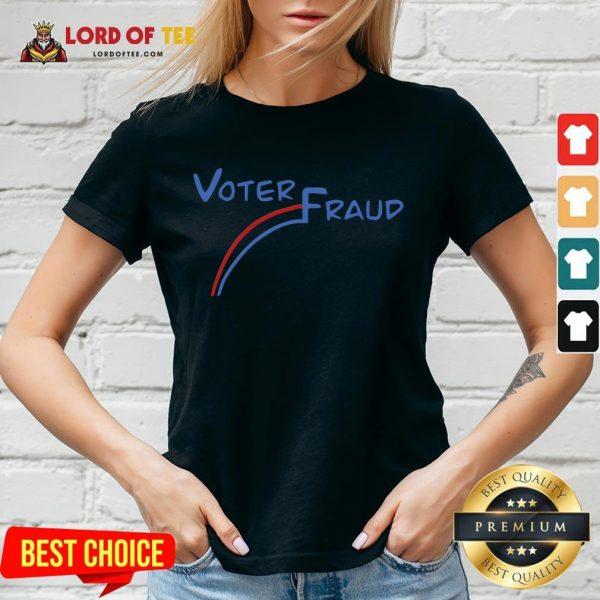 Cute Election Voter Fraud 46 V-neck