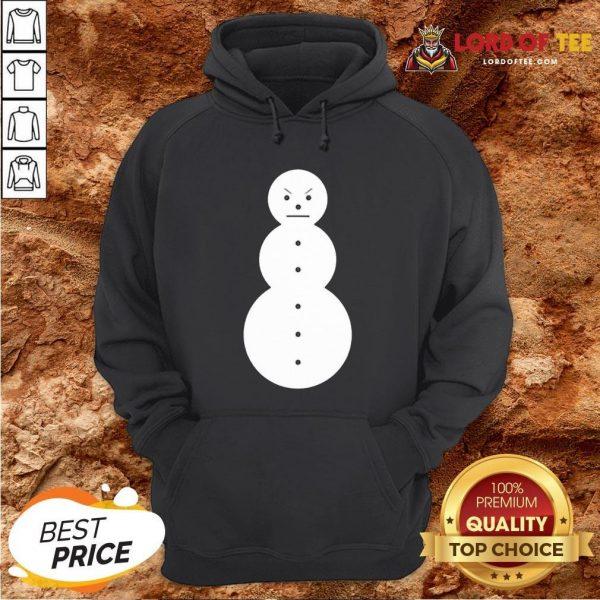 Cute Jeezy The Snowman Mery Christmas Hoodie