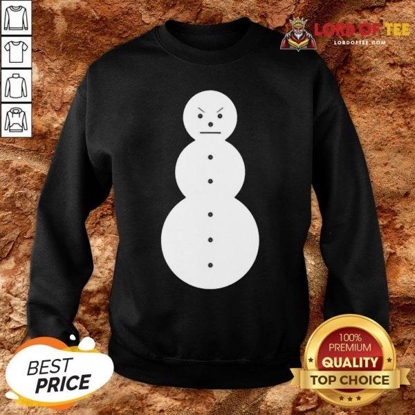 Cute Jeezy The Snowman Mery Christmas SweatShirt