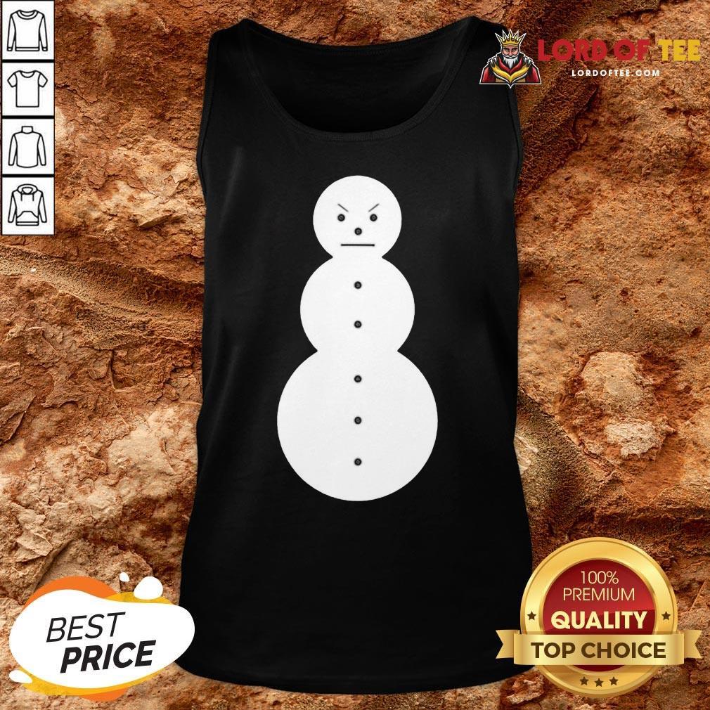 Cute Jeezy The Snowman Mery Christmas Tank Top