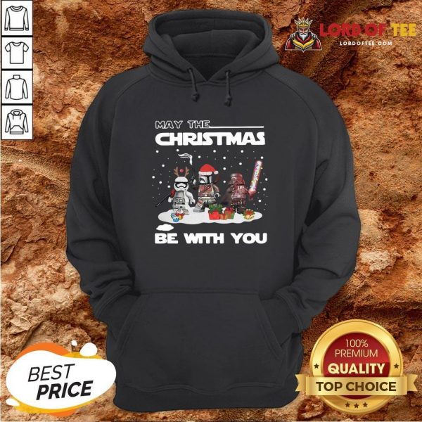 Cute Star Wars Character May The Christmas Be With You Christmas Hoodie