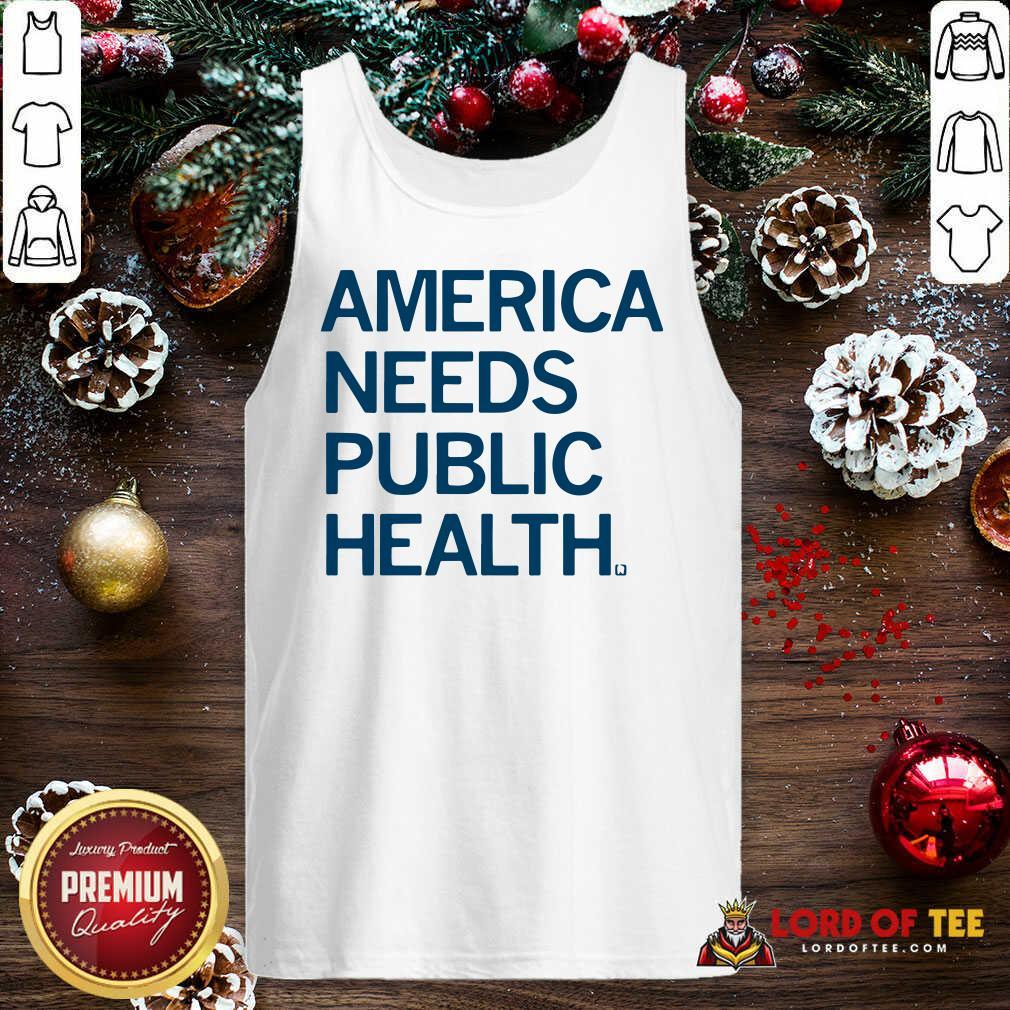 America Needs Public Health Tank Top