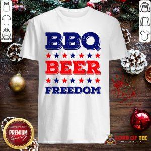 Good BBQ Beer Freedom Start Shirt