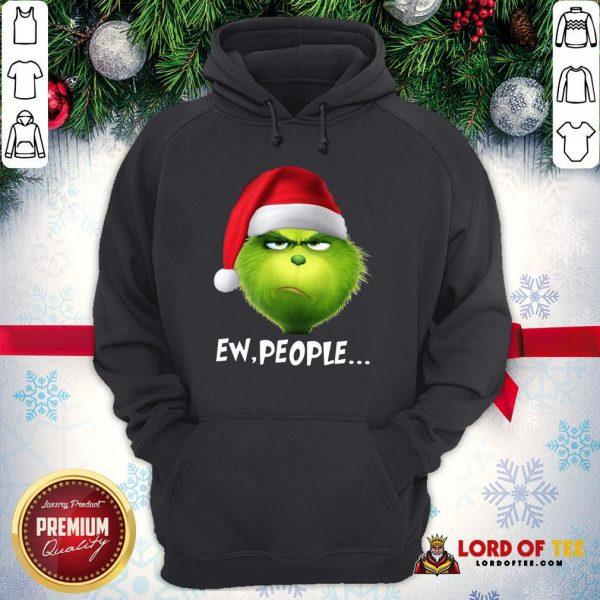 Good The Grinch Ew People Christmas Hoodie