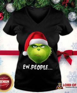 Good The Grinch Ew People Christmas V-neck
