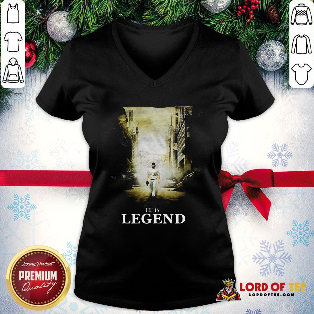 He Is Legend Tee V-neck