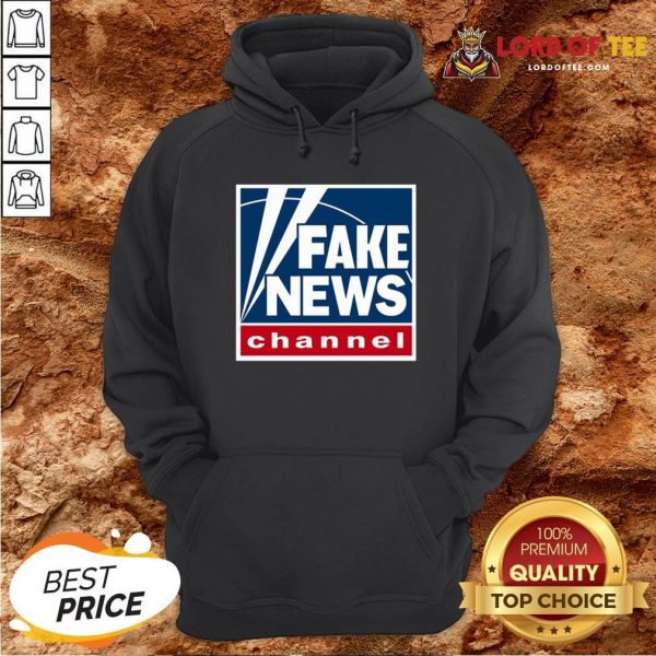Hot Fake News Channel Hoodie