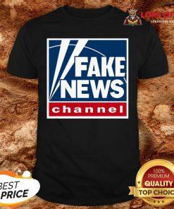 Hot Fake News Channel Shirt