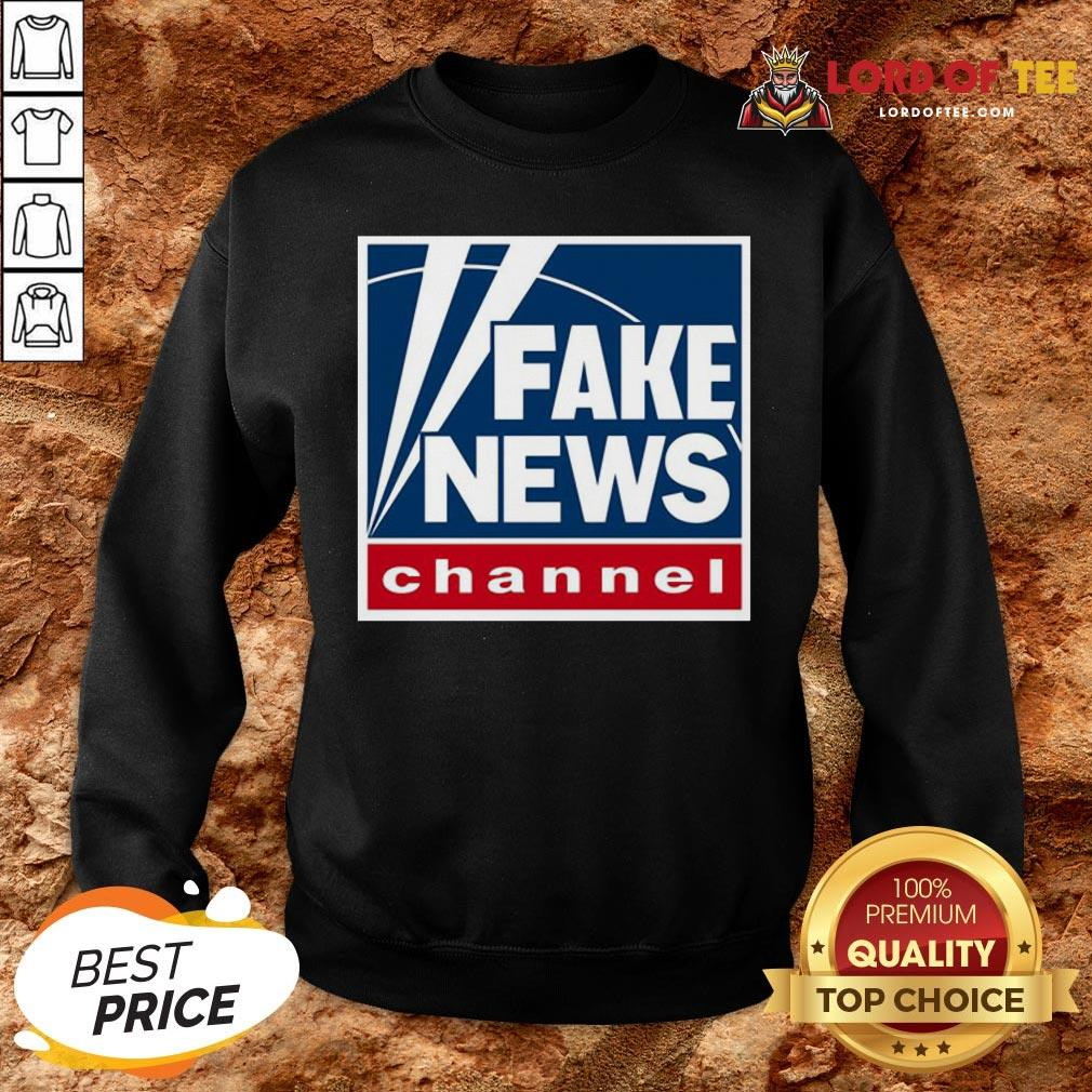 Hot Fake News Channel SweatShirt
