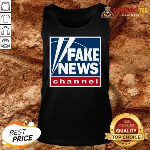 Hot Fake News Channel Tank Top