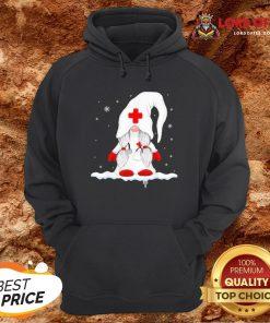 Hot Gnome Nurse Christmas Hoodie