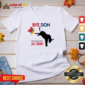 Hot Joe Biden Shirt Bye Don Anti Trump-Funny Joe Biden 2020 V-neck