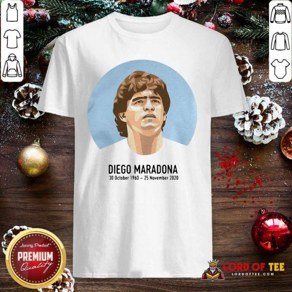 RIP Diego Maradona 30 October 1960 – 25 November 2020 Shirt