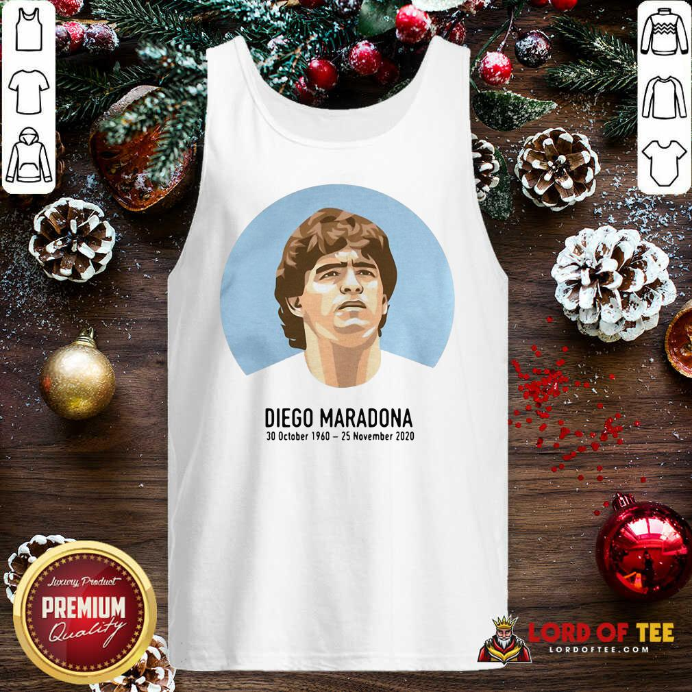RIP Diego Maradona 30 October 1960 – 25 November 2020 Tank Top