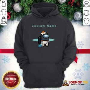 Nice Among Us Custom Name Crewmate All Character Pet Hat Outfit Birthday Hoodie