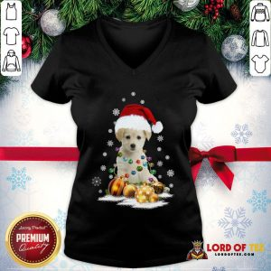 Official Dogs Merry Christmas Ugly V-neck