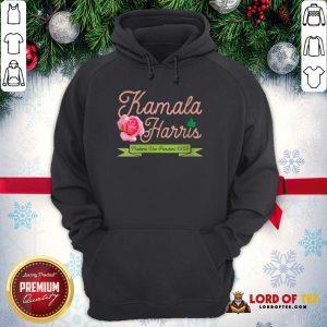 Official Kamala Harris Vice President 2020 AKA Ivy Tea Rose Flower Hoodie