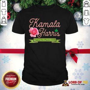 Official Kamala Harris Vice President 2020 AKA Ivy Tea Rose Flower Shirt