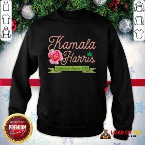 Official Kamala Harris Vice President 2020 AKA Ivy Tea Rose Flower SweatShirt