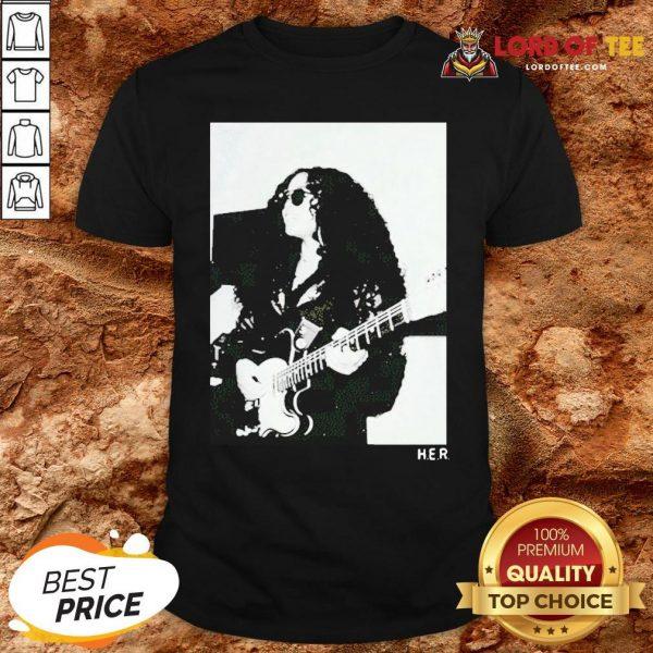 Original H.E.R. Girls With Guitars Shirt