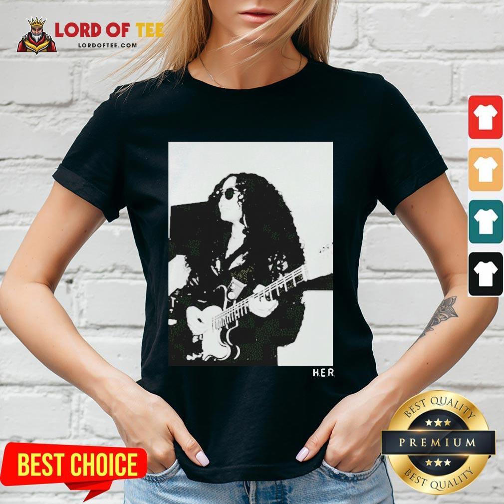 Original H.E.R. Girls With Guitars V-neck