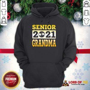 Original Wrestling Senior 2021 Grandma Hoodie