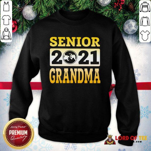 Original Wrestling Senior 2021 Grandma SweatShirt