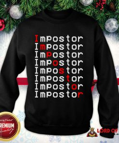 Perfect Among Us Impostor Imposter Video Game SweatShirt