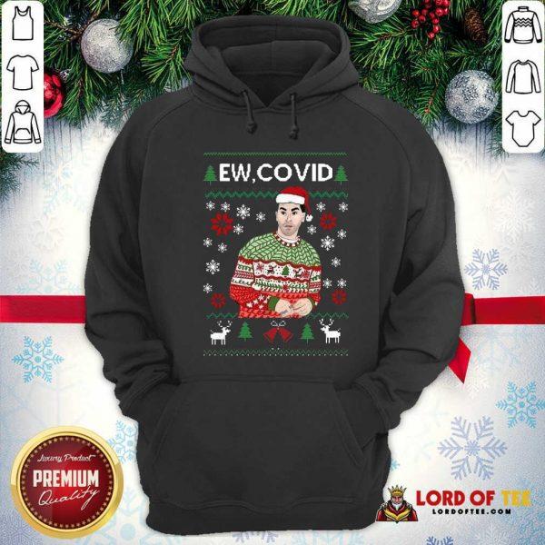 Perfect David Rose Ew Covid Ugly Christmas Hoodie