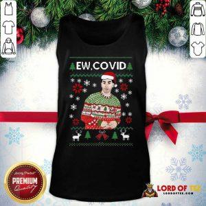 Perfect David Rose Ew Covid Ugly Christmas Tank Top
